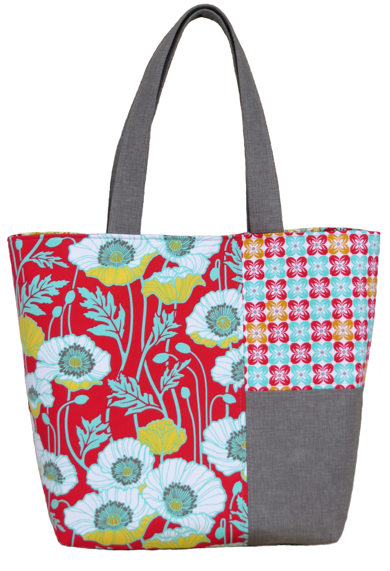 My newest pattern–the Twister Tote – Around the Bobbin