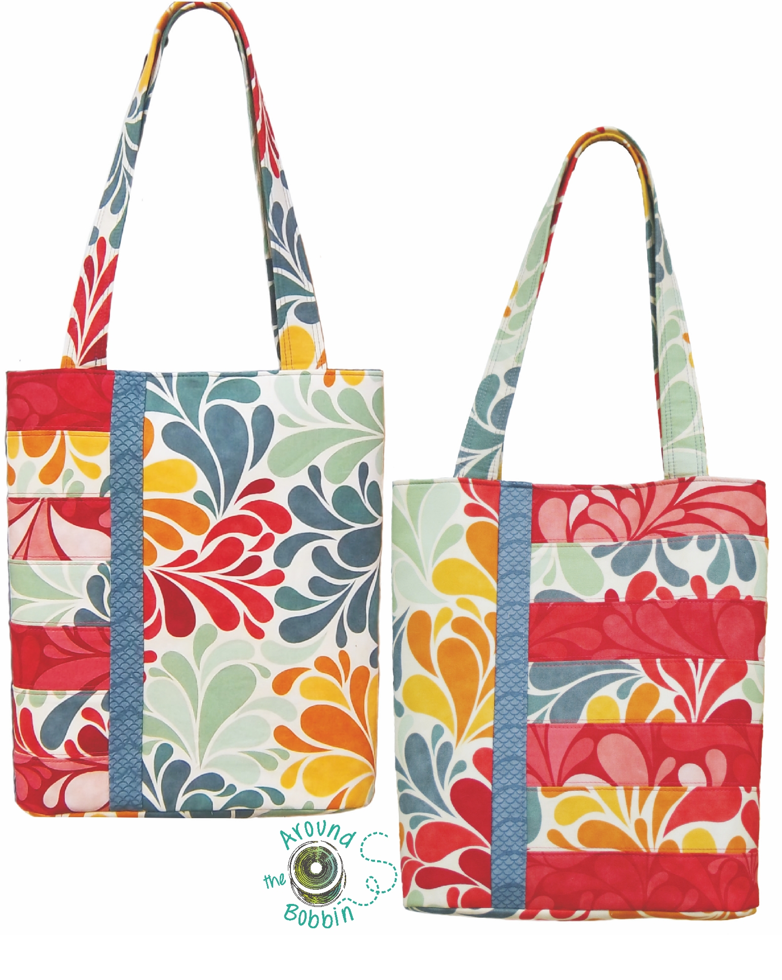 Book club bag and sassy tote bag patterns converted to pdf bookclubfbwlogo jeuxipadfo Gallery