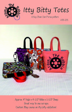 Itty Bitty Totes Downloadable PDF now available