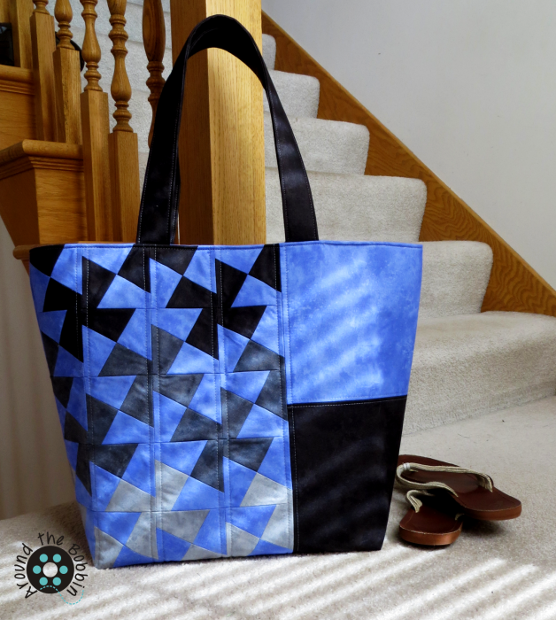 Northcott.Twister.Tote.Toscana.Periwinkle