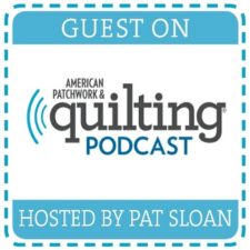 I'll be a guest on American Patchwork and Quilting Radio